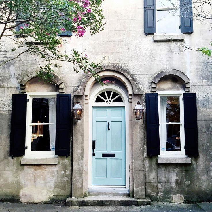 Front Door Color Blue Charleston Charleston Pinterest