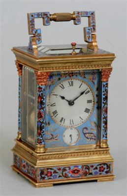Beautiful Carriage Clock. Does anyone know anything about this clock