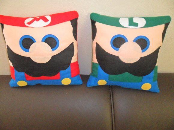 Almofada Mario Bros 30x30
