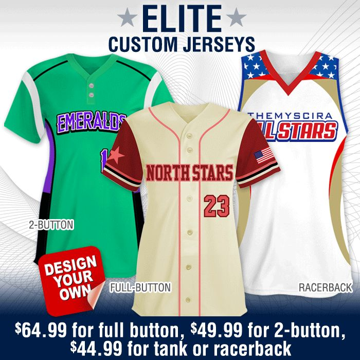 Exclusive Custom Sublimated Softball Uniform Designs | Exclusive Styles Found Only @ TSP