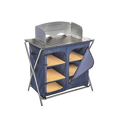 Kamp-Rite Kwik Pantry with Cook Table and Carry Bag KPT172