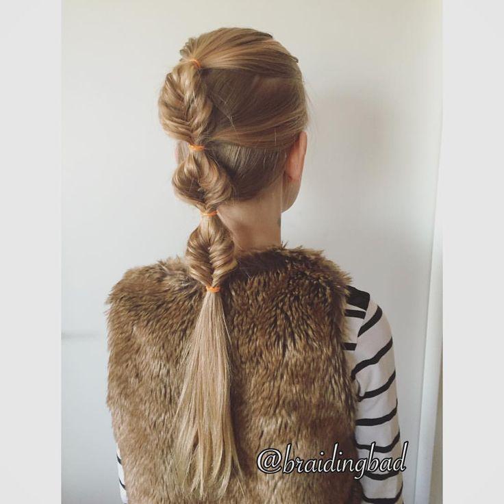 "Heli sanoo Instagramissa: ""French bubble fishtailbraid  This style holds really well! . . #braid #braiding #braidinghair #braidideas #instabraids #letti #lettikampaus #kalanruotoletti #hairstyles #flette #plaitedhair #suomiletit #braidsforgirls #featuremeisijatytot #hotbraidsmara #braidsforlittlegirls #braidingchallenge #featureaccount_ #braidinginspiration #perfecthairpics #inspirationalbraids #cghphotofeature"""
