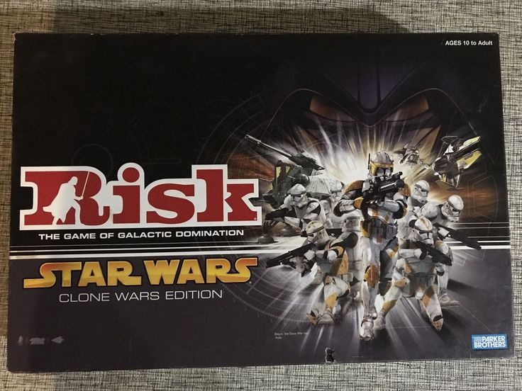 Risk Star Wars Clone Wars Edition Board Game  2005 Parker Brothers  | eBay