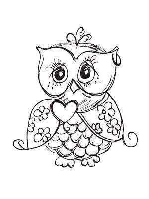 Owl Coloring Sheet #Owls #ColoringSheets #Animals