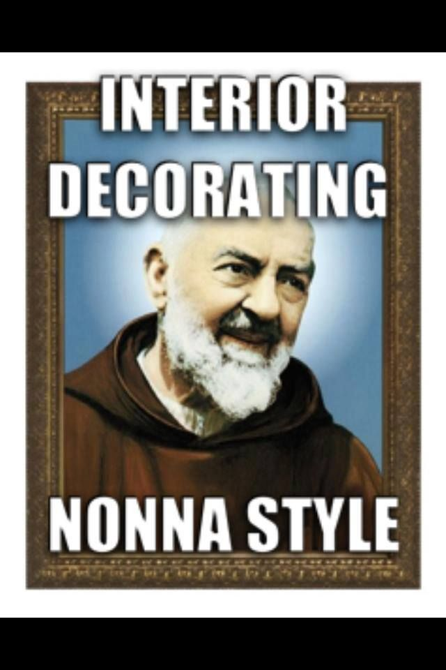Interior Decorating #Italian Nonna Style!