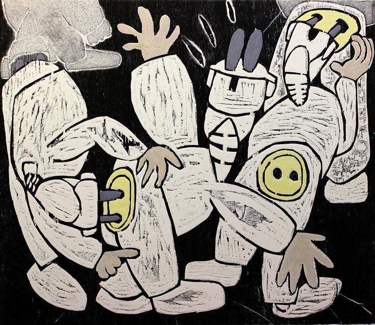 Tomás Pariente Dutor (Barcelona, 1969) se licenció en Bellas Artes en la Universidad de Barcelona. integra diferentes modos de estampación (grabado en metal, en relieve, técnicas aditivas...) para articular un abanico de texturas y plasmar su peculiar universo visual.