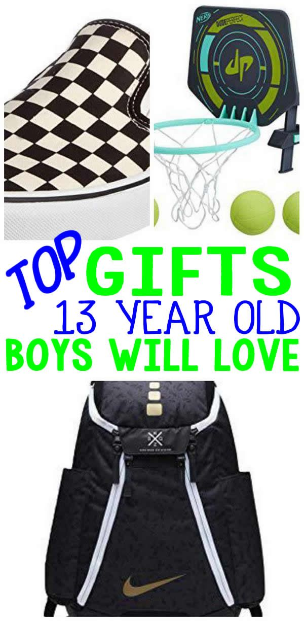 GIFTS 13 Year Old Boys BEST Gifts Will Want Gift Ideas For A Birthday Or Christmas Find The Presents