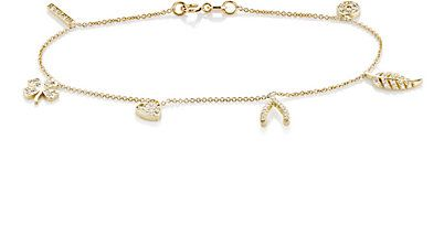 We Adore: The Multi-Charm Bracelet from Jennifer Meyer at Barneys New York
