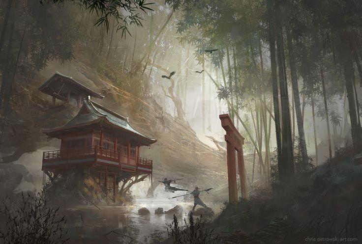 Remote Temple by najtkriss on DeviantArt