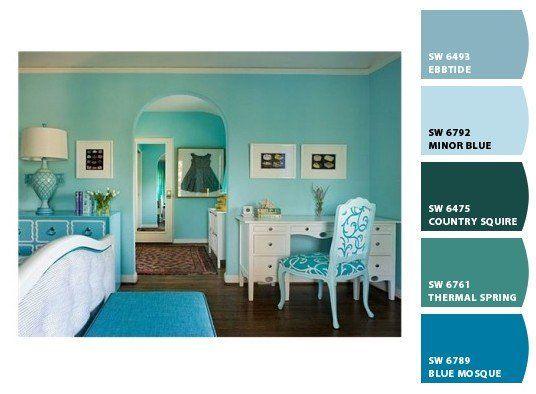 17 mejores im genes sobre paleta de colores en pinterest - Tendencias pintura paredes ...