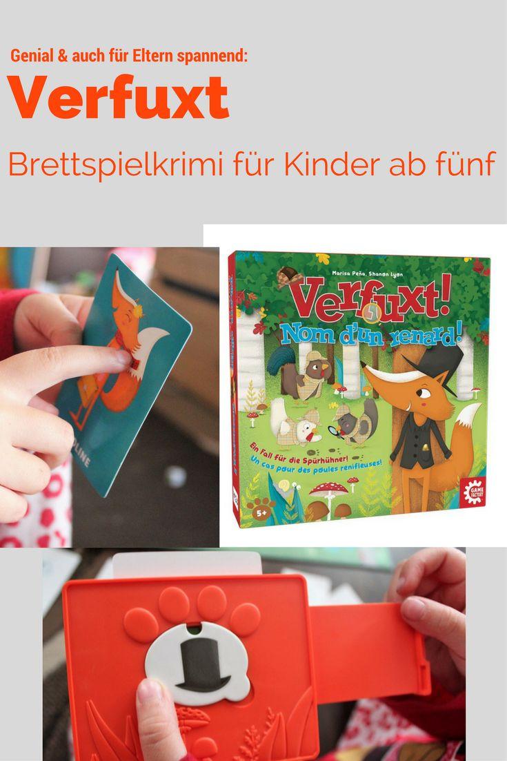Verfuxt ist unser persönliches Spiel des Jahres. Ein Brettspielkrimi, der nicht nur für die Kinder, sondern auch für Erwachsene cool ist. Unbedingte Empfehlung!