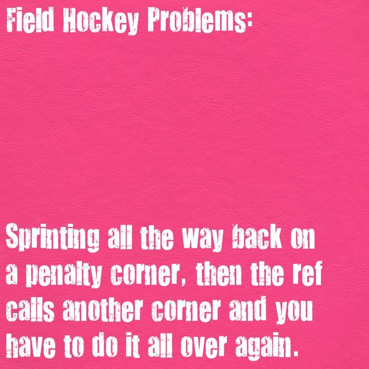 Field Hockey Problems : Photo