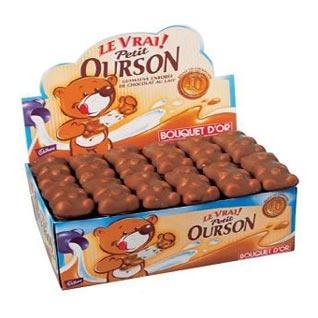 Petit ourson en chocolat ou appeler aussi nounours au chocolat