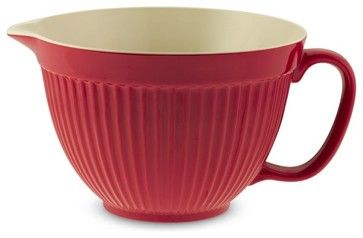 Melamine Large Batter Bowl With Handle contemporary-specialty-cookware