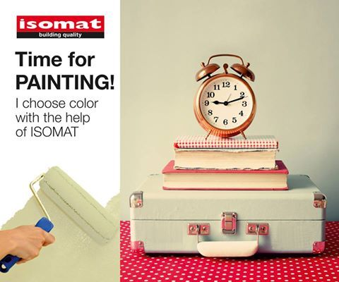 Time for painting?? #Isomat #Colors #PickyourFavorite Χατζηχριστοφής (@Oti_Xriasteis) | Twitter