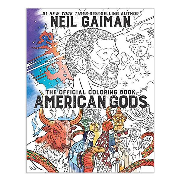 Dozens of original line drawings, paired with passages from Neil Gaiman's award-winning novel, bring American Gods to life in black and white. All you need to do is bring your worship, your imagination, and your art supplies!
