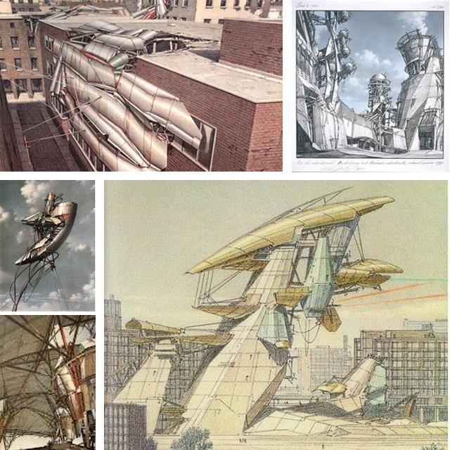 LEBBEUS WOODS: Lebbeus Woods, Architecture Drawings