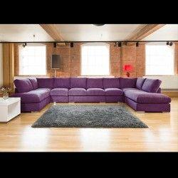 The 25 best Purple corner sofas ideas on Pinterest Purple seat