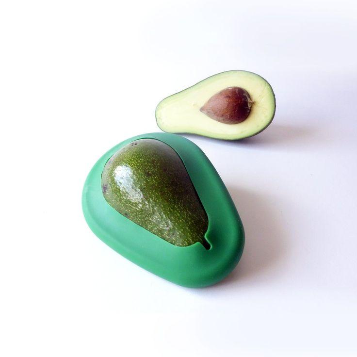 Avocado Huggers by Food Huggers It keeps your half eaten avos fresh.