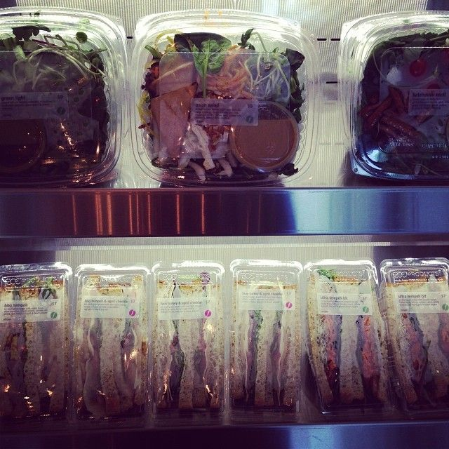 In a hurry? Come in for one of our grab and go salads and sandwiches, made fresh!