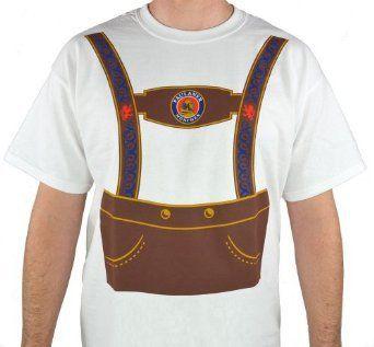 Paulaner Oktoberfest Lederhosen T-Shirt