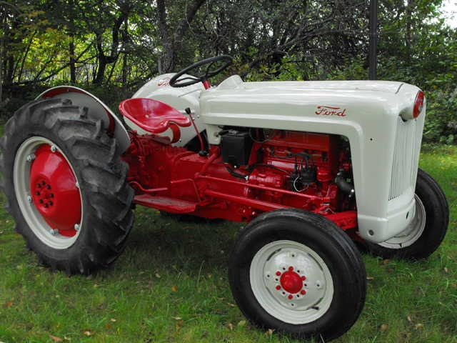 1956 Ford Tractor : Ford jubilee tractors pinterest image search
