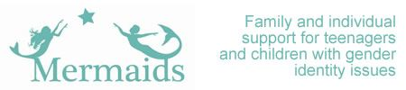 Mermaids is an organisation which supports individuals and families where children and teenagers have gender identity issues