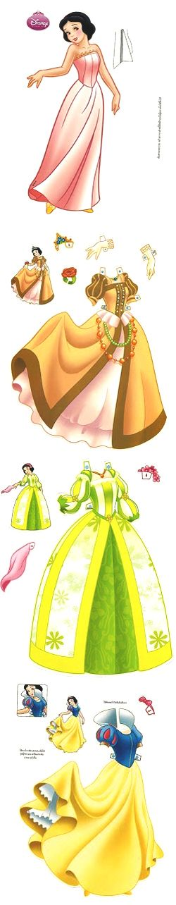 Paper Doll - Disney                                                                                                                                                      More