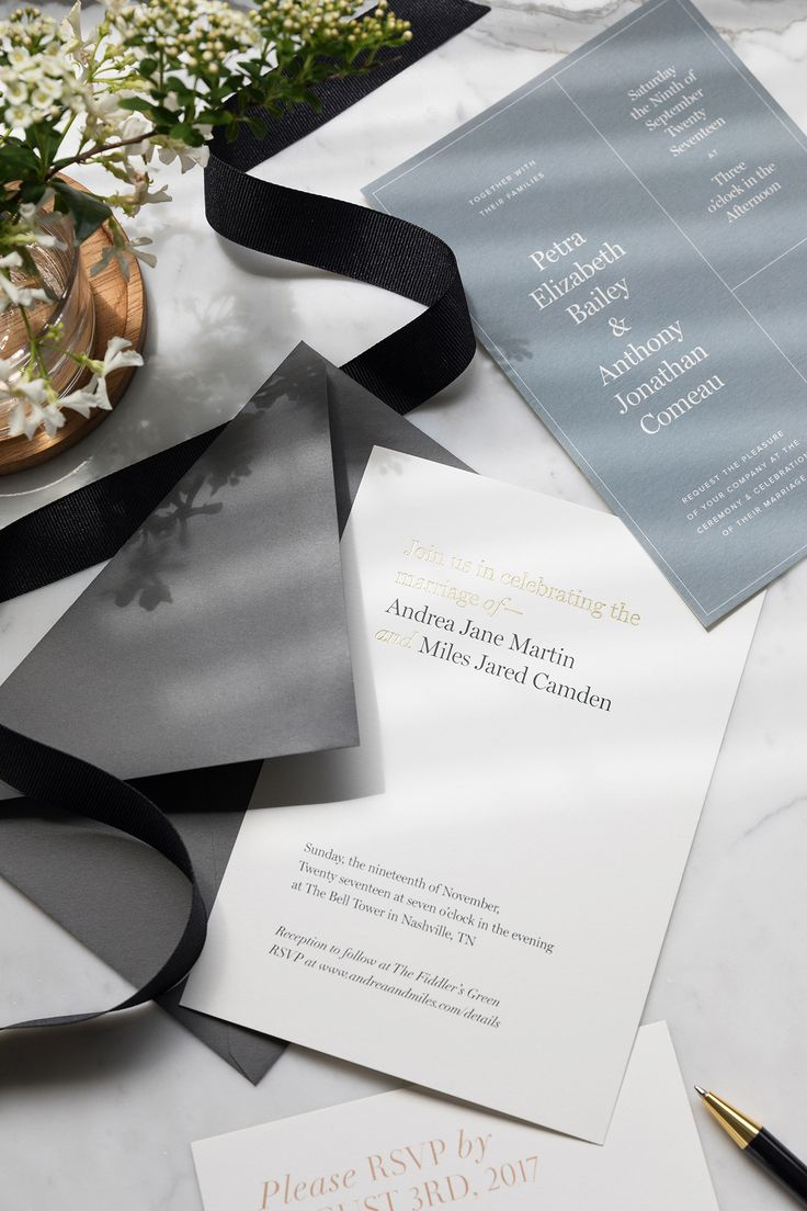 custom wedding invitations nashville%0A Modern   Luxe Wedding Invitations from Artifact Uprising