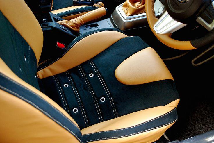 Daihatsu copen seat cover,door trim,steering retrim,shift knob, shift boots,sidebrake grip and boots,console box cover