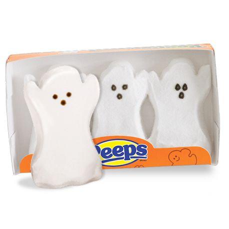 Chamallows 3 Fantômes Peeps - Bonbons Halloween - Génération Souvenirs