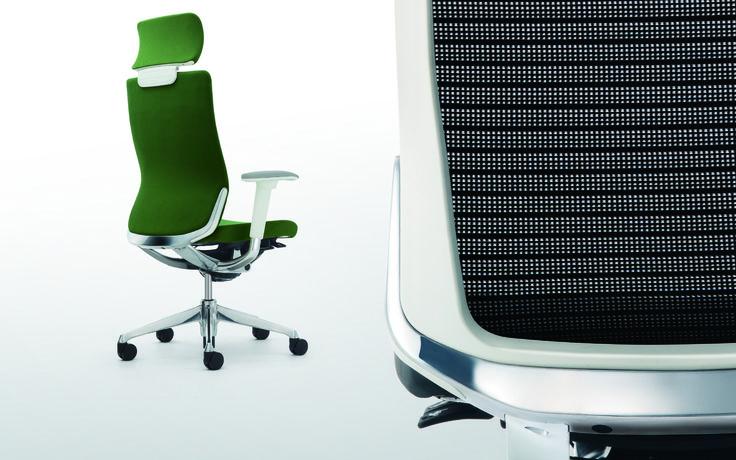 Choral Okamura Choral, een bureaustoel van PLAN@OFFICE ontworpen door Okamura.