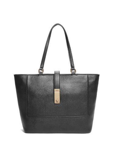 GUESS Factory Women's Adlington Color Block Faux Leather