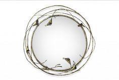 Amazing mirror design by Koket. www.bocadolobo.com #bocadolobo #luxuryfurniture #exclusivedesign #interiodesign #designideas #mirrorideas #mirror #themirror #koket