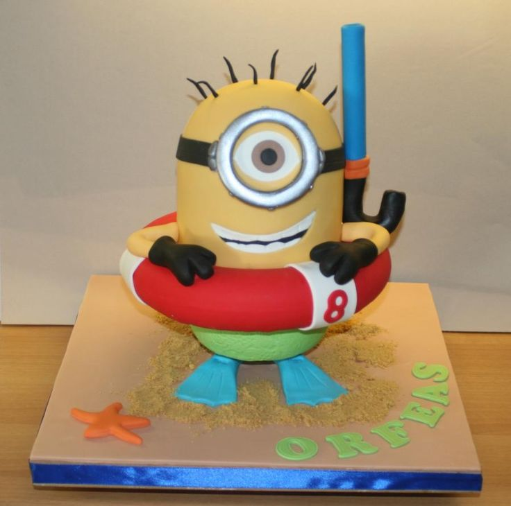 Minion Cake Decorations Uk : 25+ best ideas about Minion cake decorations on Pinterest ...