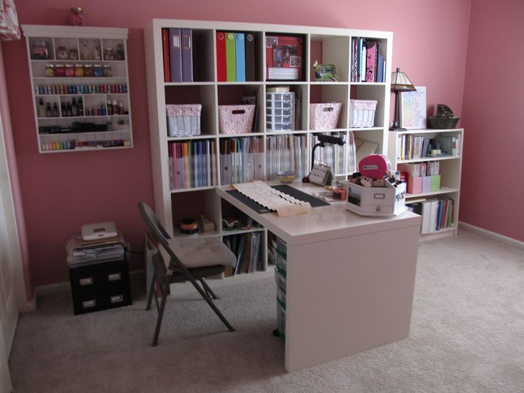 Charmant Hereu0027s My Newly Painted And Organized Scrap Room!
