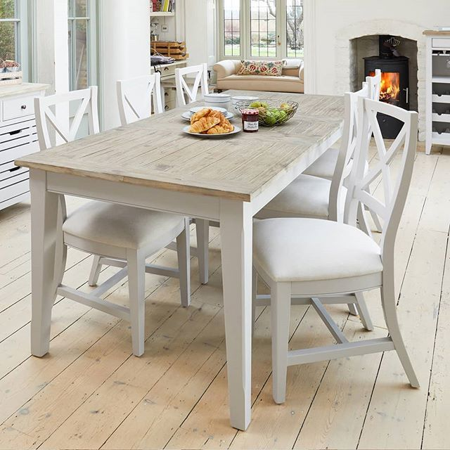 Our Signature Grey Collection Has A Wide Range Of Beautiful Light Grey Painted Furniture Items For Th Square Dining Tables Extendable Dining Table Dining Table
