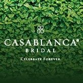 Casablanca Bridal. Vistit us at Debra's Bridal Shop, 9365 Philips Hwy., Jacksonville, Florida to the current collection of Casablanca bridal gowns.
