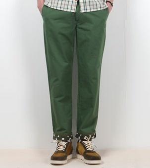 Green Color Pants for men