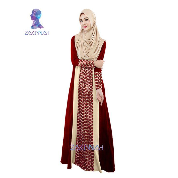 020 핫 카프 터키어 아바야 무슬림 아바야 드레스 아랍 가운 이슬람 카프 탄 이슬람 의류 여성 패션 이슬람 레이스