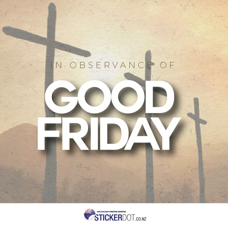 In the observance of the Holy Week, we are closed from today until on Monday, April 17, 2017. Normal business operations will resume on Tuesday, April 18, 2017. Have a blessed weekend everyone! #GoodFriday