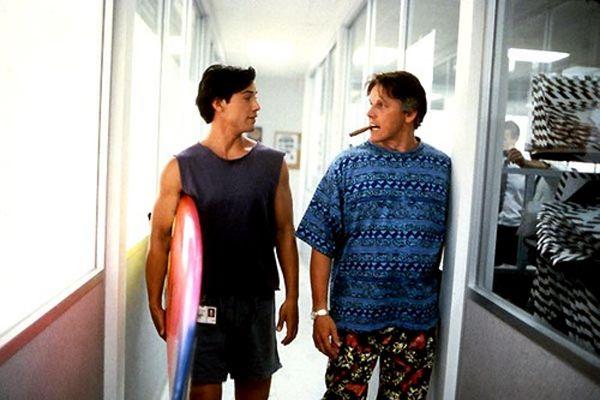 Keanu Reeves & Gary Busey - Point Break