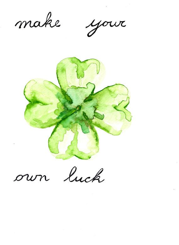 four leaf clover outline - Google Search