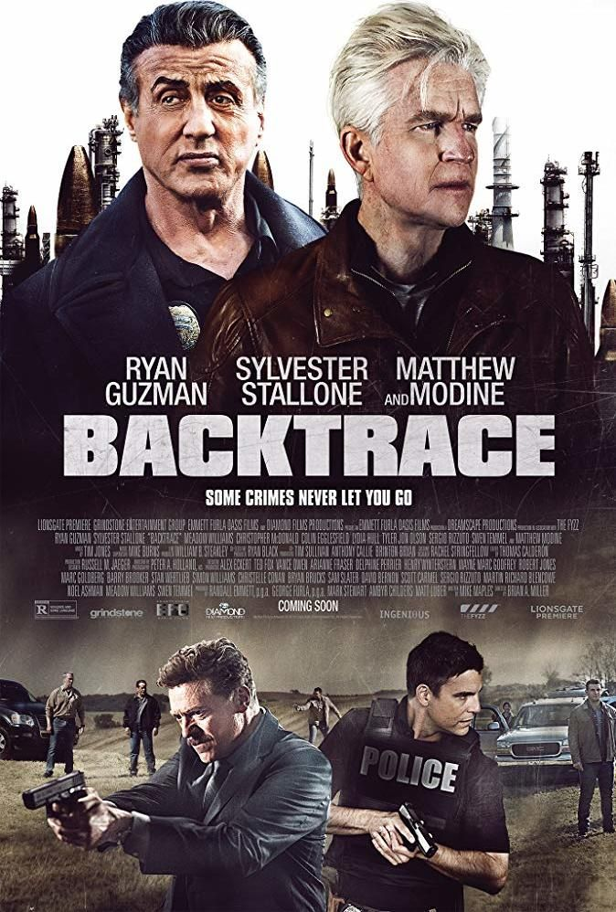 First Look at Backtrace with Sylvester Stallone | Blu Ray in
