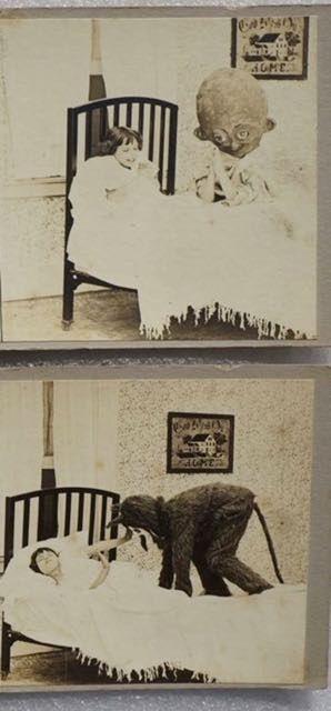 Le terrificanti Cartoline StereoView usate per spaventare i bambini all'inizio del 900 06