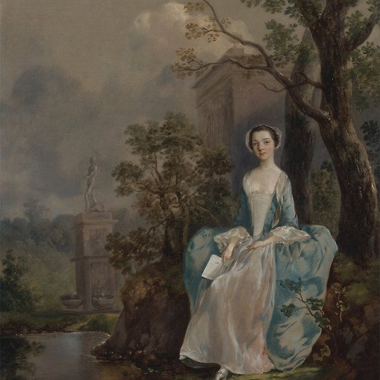 PORTRAIT OF A LADY SIR THOMAS GAINSBOROUGH