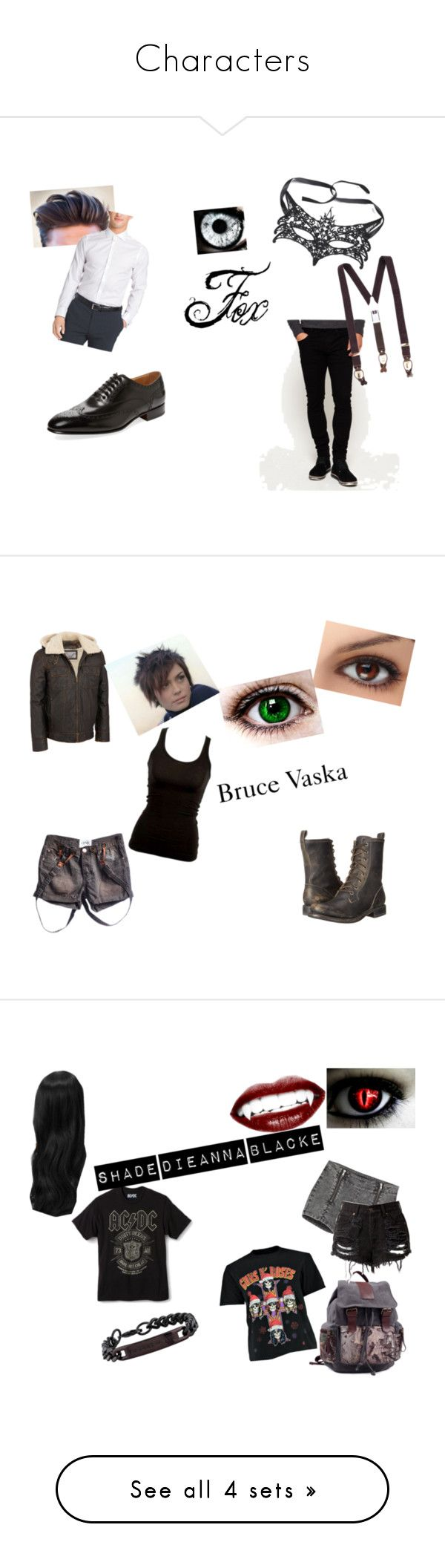 """""""Characters"""" by jundtl on Polyvore featuring Superdry, Albert Thurston, Calvin Klein, Romano Martegani, Wilsons Leather, Frye, The Kooples, Dasein, Boohoo and Thomas Wylde"""