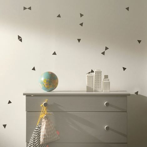 Mini Triangles Wallsticker