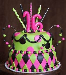 Image detail for -teen girls love the zebra themes another great teen girl b day cake