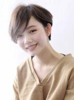 ☆大人の前髪長めショート☆ 髪型・ヘアスタイル・ヘアカタログ ビューティーナビ